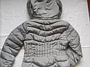 Зимняя женская куртка на холлофайбере размер 46 серая, фото 5