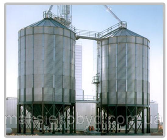 Зернохранилище металлическое
