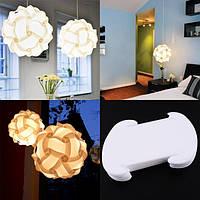 Дизайнерский светильник IQ Lamp.Абажур.Люстра.Белый цвет