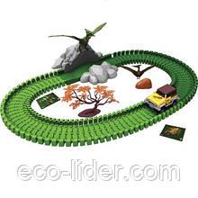"""Игровой трек серии """"Парк динозавров - 3D реальность"""" - ПТЕРОЗАВР (80 деталей, птерозавр, звук)"""