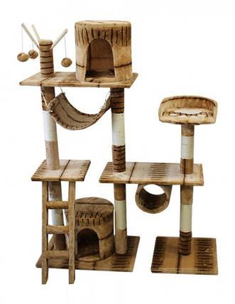Когтеточка, домики, дряпка для кошек DS- P3 145 см, фото 2