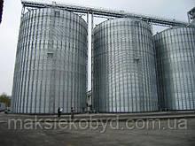 Строительство зернохранилищ