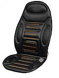 Накидка на сиденье с подогревом черная высокая 12В ДК, фото 7