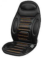 Накидка на сиденье с подогревом черная высокая 12В ДК