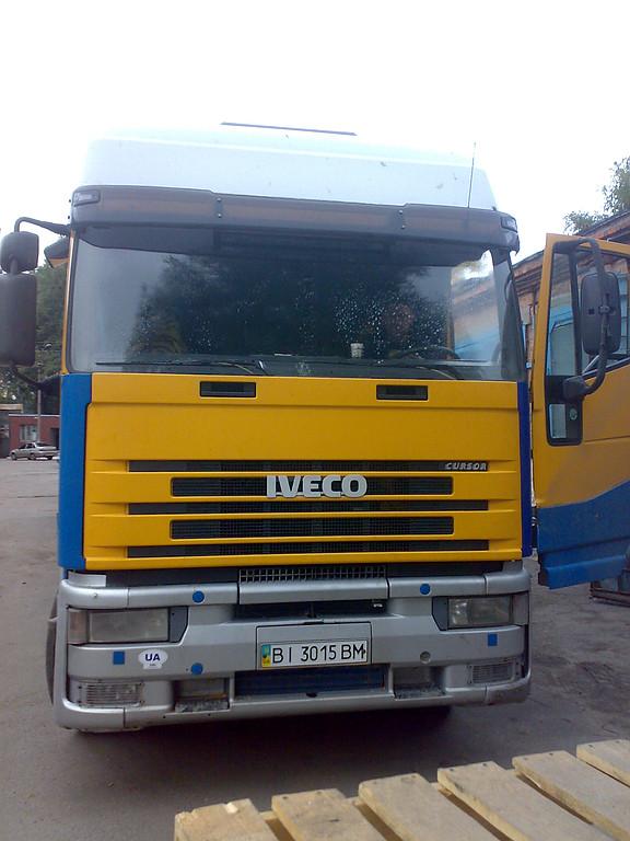 Замена лобового стекла  Iveco Eurotech Cursor