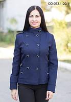 Двубортный пиджак на подкладке приталенного силуэта, фото 1