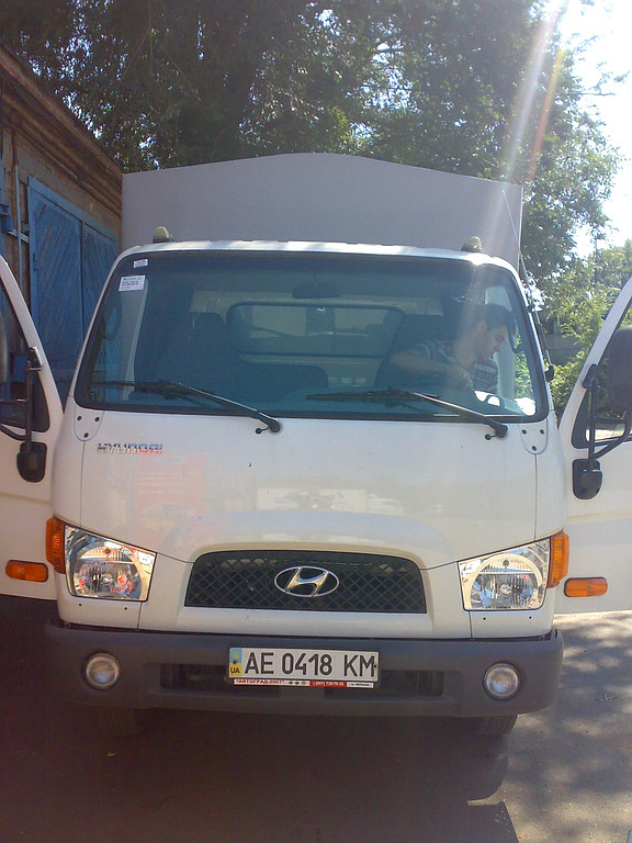 Замена лобового стекла Hyundai Mighty HD 65, 72, 78