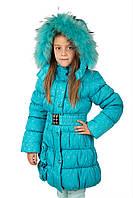 Девочки зима пальто РМ 4-9 лет