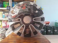 Колпаки автомобильные колесные Argo Avalone Carbon Silver Black R13