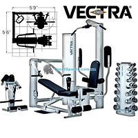 Силовой комплекс VECTRA FITNESS ON-LINE 1450 ВИТРИНА