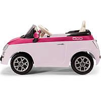 Электромобиль PEG-PEREGO Fiat 500 Pink с пультом управления