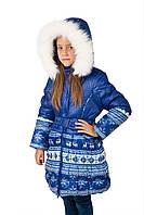 Шикарное пальто на девочку DONILO 2-7 лет