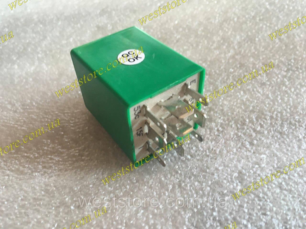 Реле цикличности стеклоочистителя дворников Ланос Lanos Sens сенс Зеленое OE 96596863 (Корея)