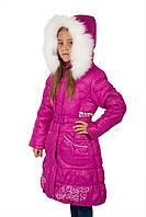 Зимние пальто на девочку Кико 7-11 лет