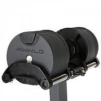 Гантели со стойкой 2 x 32 кг Finnlo Smart Lock 6774