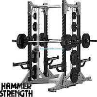 Силовая двойная стойка HAMMER STRENGTH HD Elite HDECR-HRL