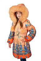 Пальто на девочку бренд Кико 5-9 лет