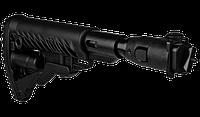 Приклад FAB Defense для АК 47/74, пластик, телескопический с регулируемой щекой (цвет: черный)