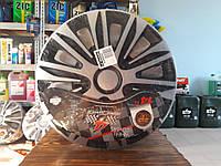 Колпаки автомобильные колесные Argo Nardo silver black R14