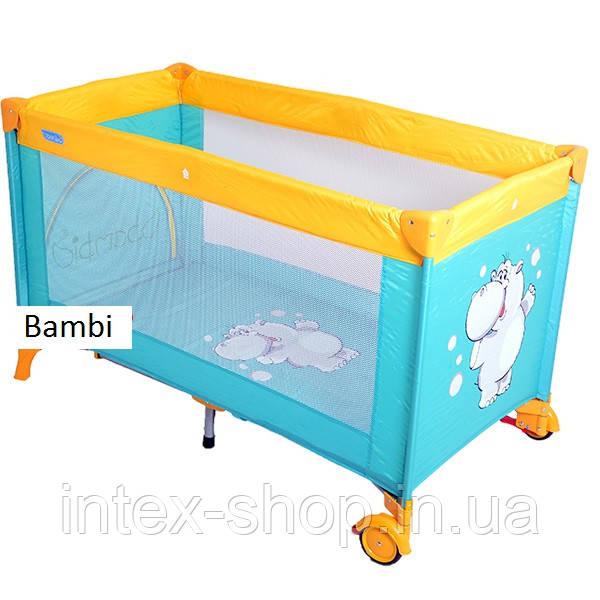 Кровать-манеж Bambi M-1549