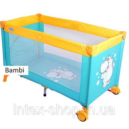 Кровать-манеж Bambi M-1549, фото 2