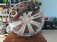 Колпаки автомобильные колесные Argo RST White R14