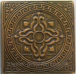 Вставка напольная металическая Lantana (Латунь)