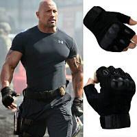 Тактические перчатки Оakley Короткопалые, фото 1