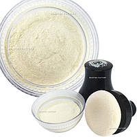 Мерцающая пудра для тела Beauties Factory Smooth Glitter Body Powder with Puff (Pearl White)