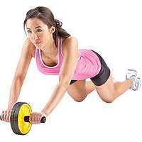 Ролик двойной для пресса Gold's Gym Ab Wheel