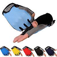 Велоперчатки беспалые HOTLLR. Перчатки для спорта, Фитнес-Тренировки