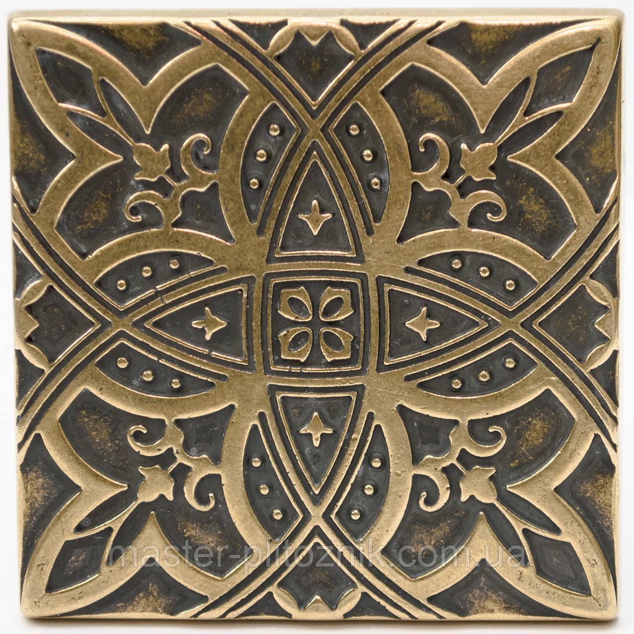 Вставки напольные металические Lily (Латунь)
