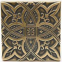 Вставки напольные металические Lily (Латунь), фото 1