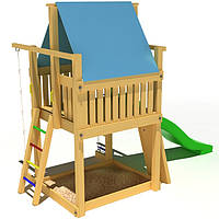 Деревянный детский игровой домик KIDIGO Волшебный