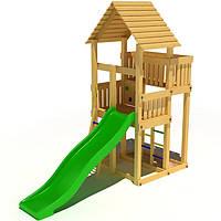 Деревянный детский игровой домик KIDIGO Родной