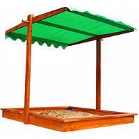 Детская песочница с крышей SportBaby Песочница-22