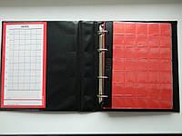 Альбом для монет 221 ячейка Schulz Черный, фото 1