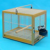 Переноска для птиц (алюминий) (46х41х57)