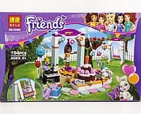 Конструктор Bela серия Friends / Подружки 10492 День рождения (аналог Lego Friends 41110)