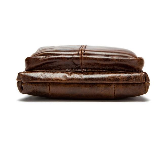 Мужская кожаная мини-сумка через плечо Marrant