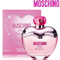 Moschino Pink Bouquet edt 100ml lady. Туалетная вода Оригинал