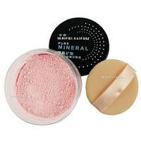 Минеральная рассыпчатая пудра Love Alpha Mineral Sheer Finish Loose Powder 09 Soft Rosy Glow