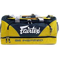 Спортивная женская сумка FAIRTEX Bag2 Yellow