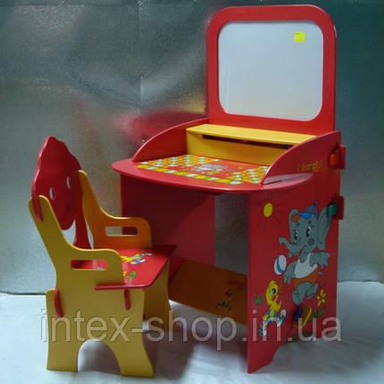 Детская парта Bambi W 059 с магнитной доской., фото 2