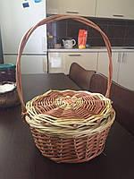 Корзинка круглая с крышкой, фото 1