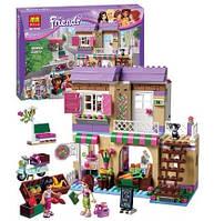 Конструктор Bela серия Friends / Подружки 10495 Продуктовый магазин (аналог Lego Friends 41108)