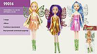"Кукла ""Winx "" 99016 3 вида, с крылышками, в пакете 23см"