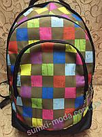 Принт рюкзак стильный большой(46*23)спортивный спорт  городской ОПТ, фото 1