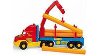 Игрушечная машинка Wader Super Truck Строительный грузовик  36540