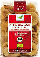 Bio Planet чіпси бананові (без цукру) 150 г